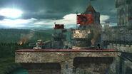 Castillo asediado (Versión Omega) SSB4 (Wii U)