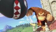 Donkey Kong en el Castillo de Peach SSBU