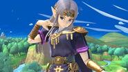 Zelda con un color alternativo SSBU