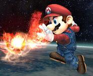 Bola de fuego Mario SSBB