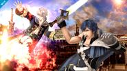 Chrom en el Smash Final de Daraen SSB4 (Wii U)