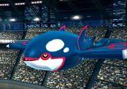 Kyogre en el Estadio Pokémon 2 SSBB
