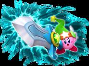 Art Oficial de Gran Espada en Kirby's Return to Dreamland