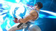 Ryu usando Shinku Hadoken SSBU