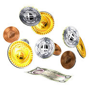 Monedas y billetes SSBB