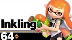 64 Inkling – Super Smash Bros