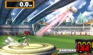 Palutena en el Beisbol Smash SSB4 (3DS)