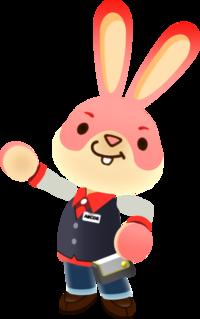 Conejo de los recreativos