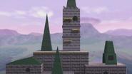 Castillo de Hyrule (64) SSB4 (Wii U)