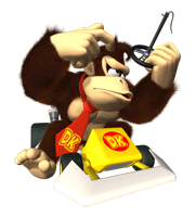 Pegatina de Donkey Kong en Mario Kart DS SSBB.png