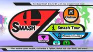 Menu principal de SSB4 (Wii U)