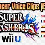 Super Smash bros for. Wii U PAL Language Differences- Announcer