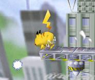 Pikachu usando rayo (2) SSB