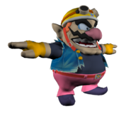 Pose T Wario SSB4 (Wii U)