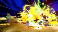 Zombi atacando con la dinamita a Ganondorf SSBU