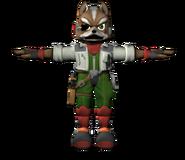 Pose T Fox SSB4 (Wii U)
