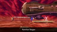 Dragoon en una escena del Nintendo Direct SSB4 (Wii U)
