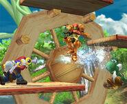 Mario utilizando el ACUAC SSBB