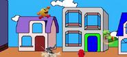 Pac Man, Marth y Yoshi en Pac Land Super Smash Bros Wii U