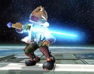 Fox con una Espada Laser SSBB