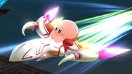 Kirby montando el Dragoon SSB4 (Wii U)