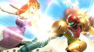 Zelda y Samus SSB4 (Wii U)