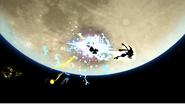Greninja usando Técnica Floral Ninja (2) SSB4 (Wii U)