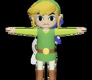Pose T Toon Link SSB4 (Wii U)