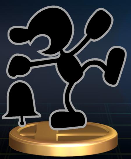 Lista de trofeos de SSBB (Game & Watch)