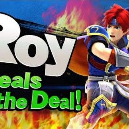 【Smash Bros. for Nintendo 3DS Wii U】¡Roy da el golpe de gracia!