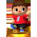 Lista de trofeos de SSB4 3DS (Animal Crossing)