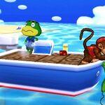 Diddy Kong y Yoshi en la Isla Tórtimer SSB4 (3DS).jpg