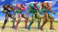 Paleta de colores de Samus SSB4 (Wii U) (1)