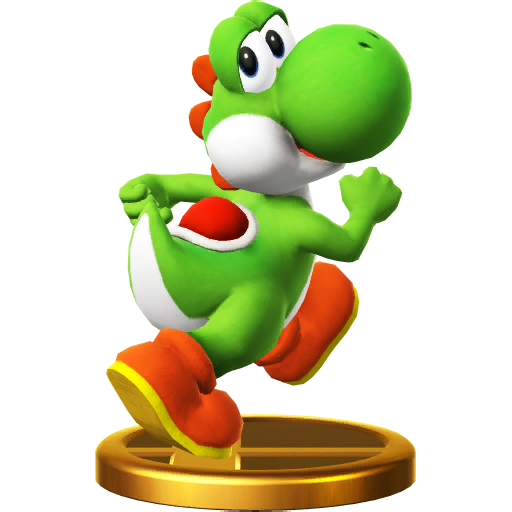 Lista de trofeos de SSB4 Wii U (Yoshi)