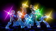 Mega Man usando su Smash Final SSBU