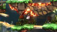 Techo de lava el gran ataque de las cavernas SSB4 Wii U