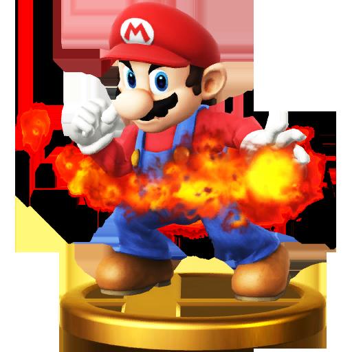 Lista de trofeos de SSB4 Wii U (Super Mario Bros.)