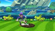 Waluigi (1) SSB4 (Wii U)