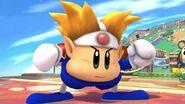 Knuckle Joe en Sobrevolando el pueblo SSB4 (Wii U)