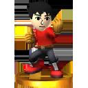 Lista de trofeos de SSB4 3DS (Super Smash Bros.)