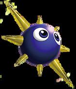 Artwork de Gordo en Kirby Triple Deluxe