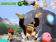 Créditos Modo Aventura Luigi SSBM