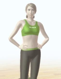 Entrenadora de Wii Fit