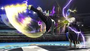 Daraen y su version femenina usando la Espada Trueno SSB4 (Wii U)