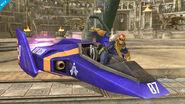 Captain Falcon en el Coliseo SSB4 (Wii U)