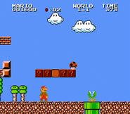 Champiñón venenoso en Super Mario Bros. 2 Famicom