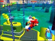 Mario y el ACUAC en Super Mario Sunshine