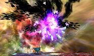 Master Hand desintegrandose SSB4 (3DS)