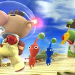 Yoshi junto a Olimar SSB4 (Wii U).png