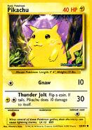 Pikachu Base Set Pokémon Trading Card Game